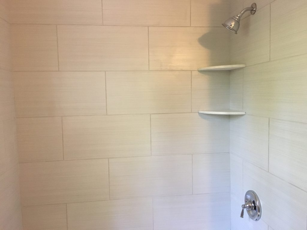 Hall Bath Tile Shower