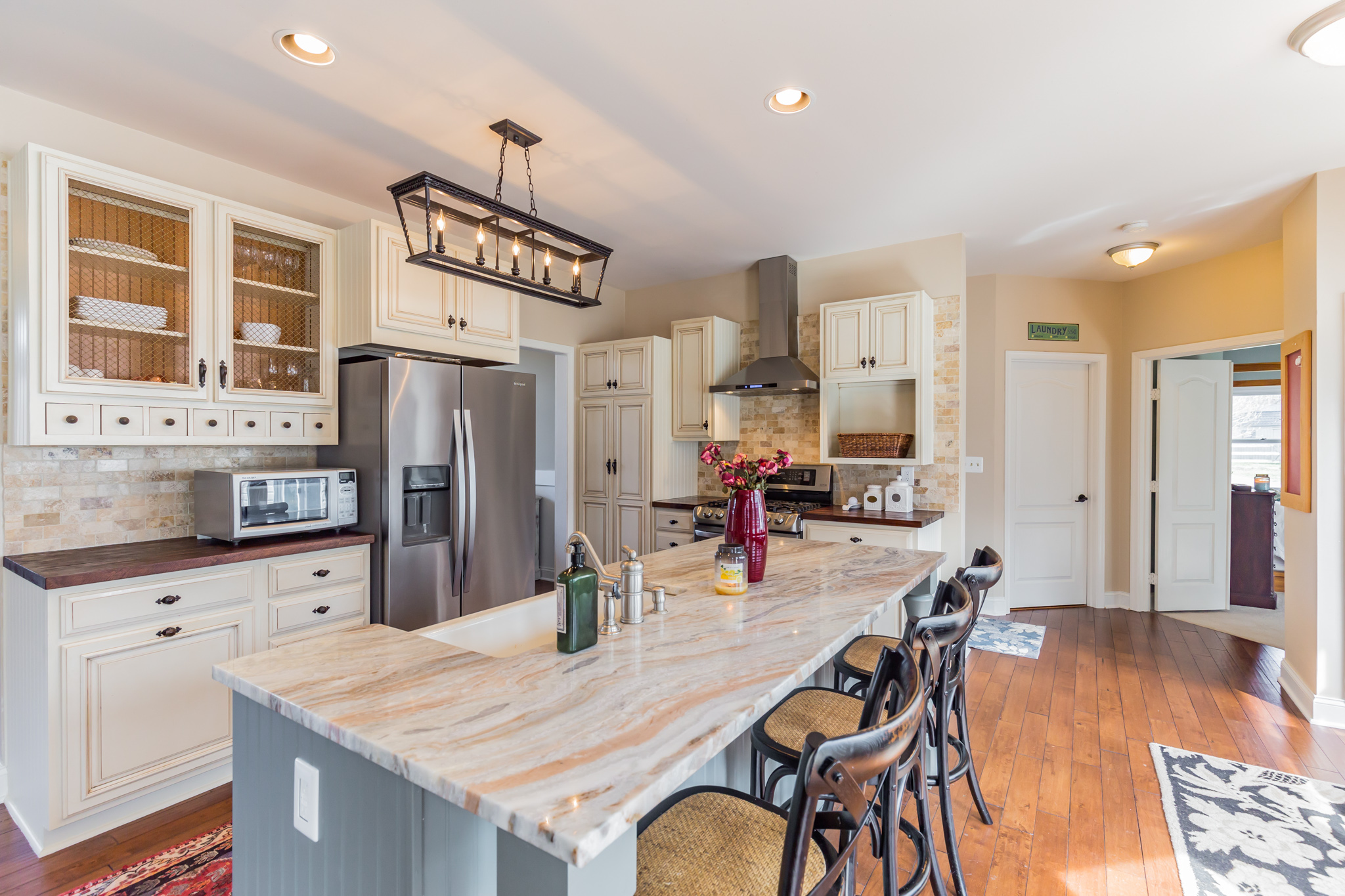 Custom Redesigned Ranch Style Home on 3.5 Acres in Prince Frederick with Pool