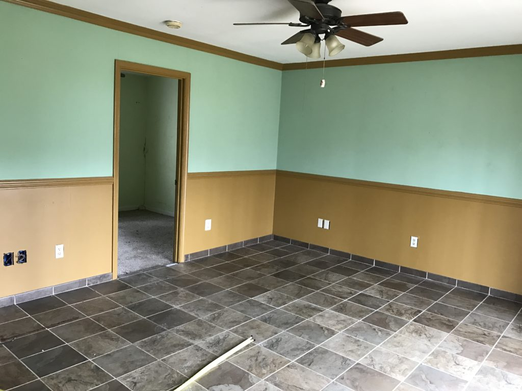 BEFORE: Separate Dining Room