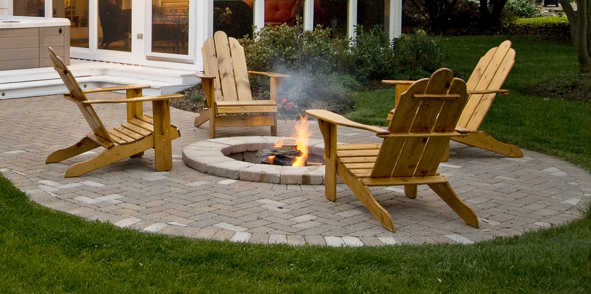 5 simple steps to build a backyard stone fire pit #toliveorsell